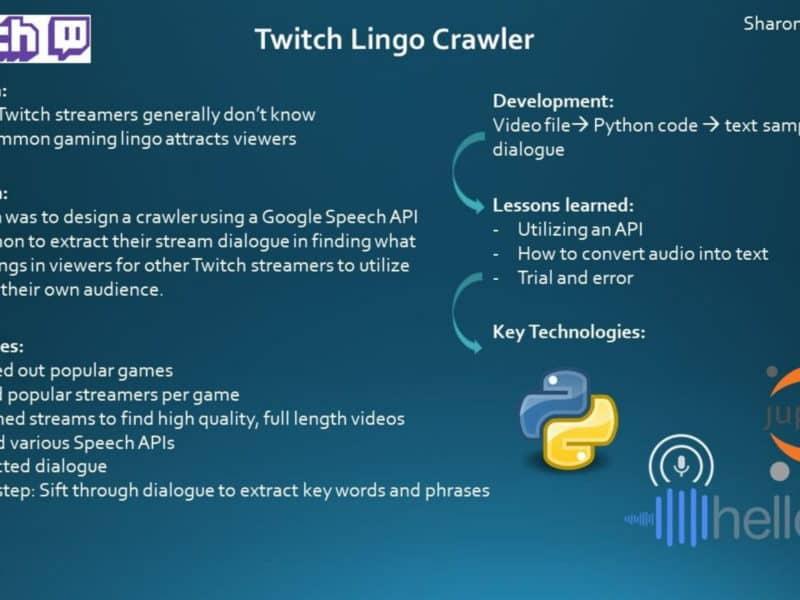 Twitch-crawler